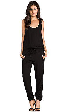 Indah Rhodes Simple Tank Jumpsuit in Black