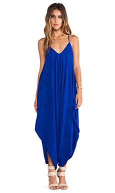 Indah X REVOLVE Ivory All in One Jumpsuit in Antik Cobalt