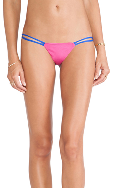 Indah Hi-Fi Bikini in Fuchsia & Royal Blue