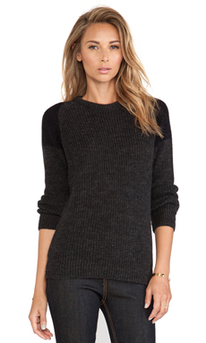 IRO Piper Pullover om Dark Grey