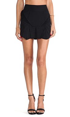 IRO Flora Mini Skirt in Black