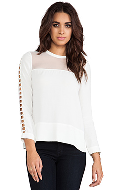 IRO Ashty Blouse in Off White