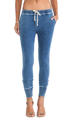 IRO . JEANS Leighton Jogging Pant in Denim Blue