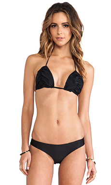 Issa de' mar Laguna Top in Black
