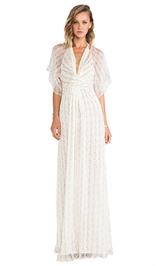 Issa Pollyanna Maxi Dress en Nuage