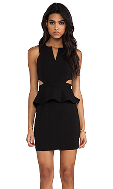 Jay Godfrey Otis Dress in Black