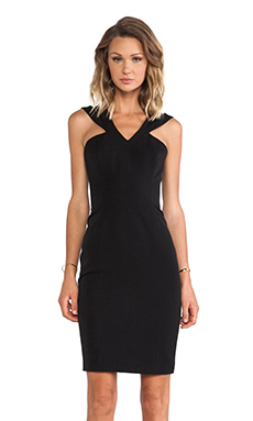 Jay Godfrey Skoll Dress in Black