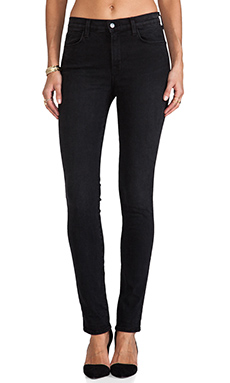 J Brand Highrise Skinny in Graphite