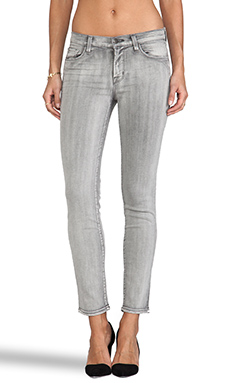 J Brand Midrise Washed Super Skinny in Borderline