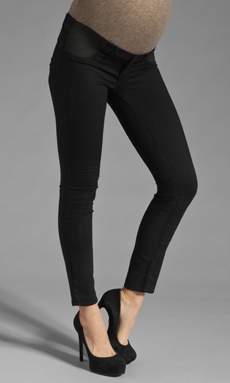 J Brand Maternity Leggings in Pitch