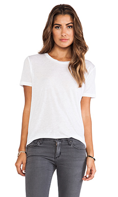 J Brand Kiki Crew in White