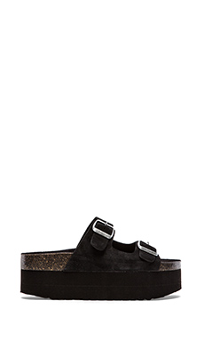 Jeffrey Campbell Aurelia Sandal in Black Suede