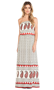 Jen's Pirate Booty Krishna Maxi Dress in Henna