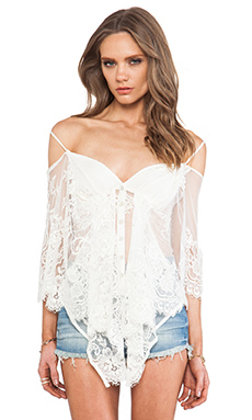 ETHEREAL BUTTERFLY TOP