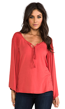 James & Joy Leanne Top in Paprika