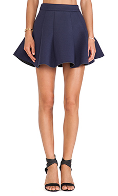 JOA Neoprene Skirt in Navy