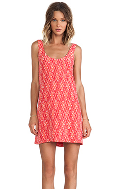 DAWNA IKAT TANK DRESS