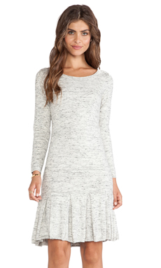 Joie Tala Sweater Dress in Heather Sterling & Caviar