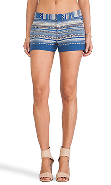 MERCI ETHNIC MULTISTRIPE SHORTS