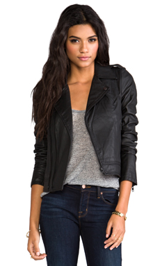 Joie Colby Jacket in Caviar