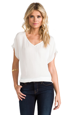 Joie Glenna Top in Porcelain