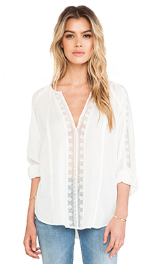 Joie Jillen Blouse in Porcelain