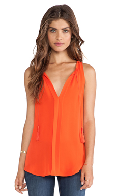 Joie Airlan Tank in Spicy Orange
