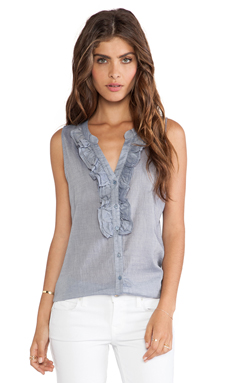 Joie Aurori Tank in Chambray