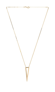 joolz by Martha Calvo Dagger Necklace in Gold