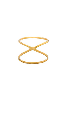 joolz by Martha Calvo X Ring in Gold