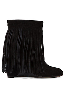 Koolaburra Zarin Fringe Boot in Black