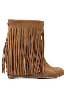 Koolaburra Zarin Fringe Boot in Chestnut