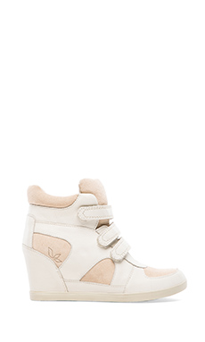 Koolaburra Preston II Wedge Sneaker in Luna & Stone