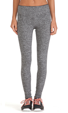 koral activewear Mystic Legging in Heather Grey