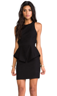 keepsake Turn Your Love Dress in Black