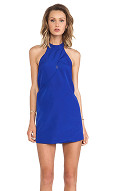 keepsake One More Night Dress in Cobalt