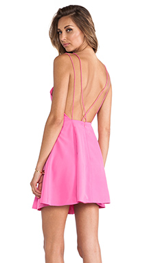 keepsake Be My Escape Dress in Candy Pink