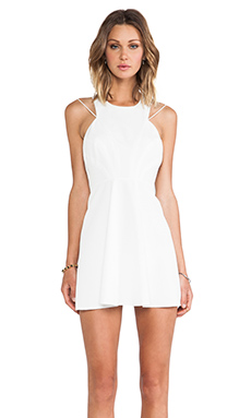keepsake Countdown Mini Dress in Ivory