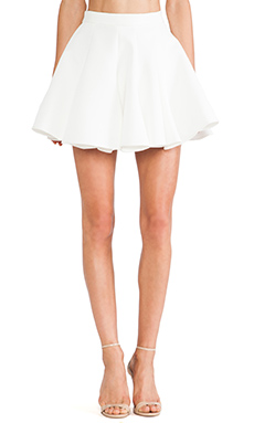 keepsake All Through the Night Skirt in Ivory