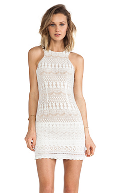 Ladakh Havisham Lace Dress in White