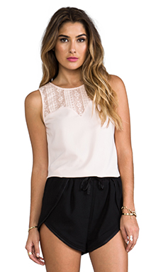 Ladakh Intermix Top in Soft Blush
