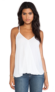 HI-LOW WRAP TOP