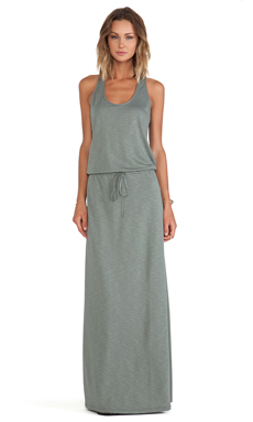 Lanston Racerback Dress in Moss