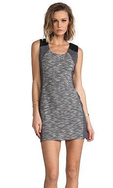 Lanston Tweed Body Con Dress in Pepper