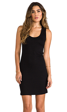 Lanston Cutout Racerback Sheath in Black