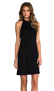 Lanston Turtleneck Halter in Black