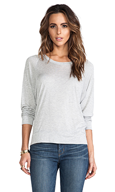 Lanston Scoop Pullover in Heather