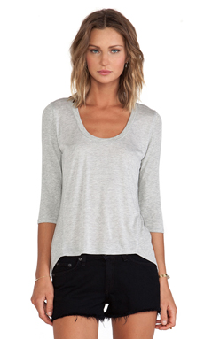 Lanston Trapeze Top en Heather