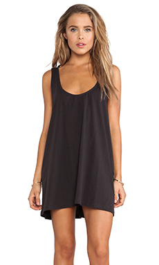 LENNI Maja Singlet Dress in Charcoal