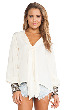 LENNI Ghost Blouse in Cream
